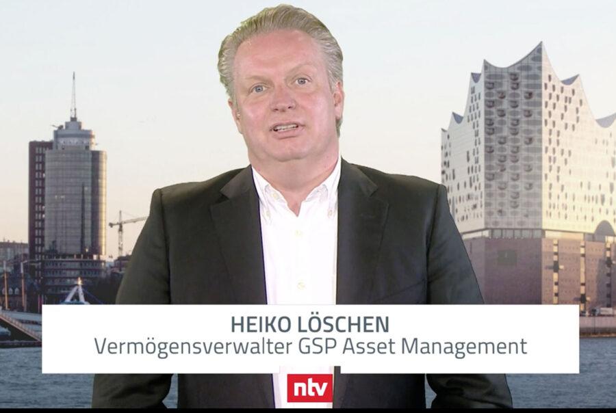 Heiko Löschen, GSP asset management GmbH, Münster im n-tv Interview 14.04.2020