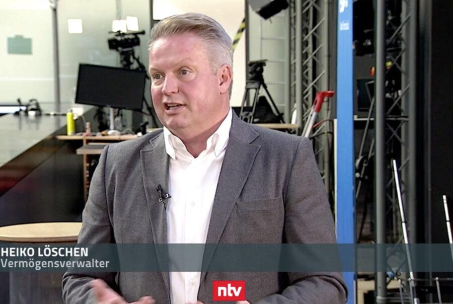 Heiko Löschen, GSP asset management GmbH, Münster im n-tv Interview 24.09.2020